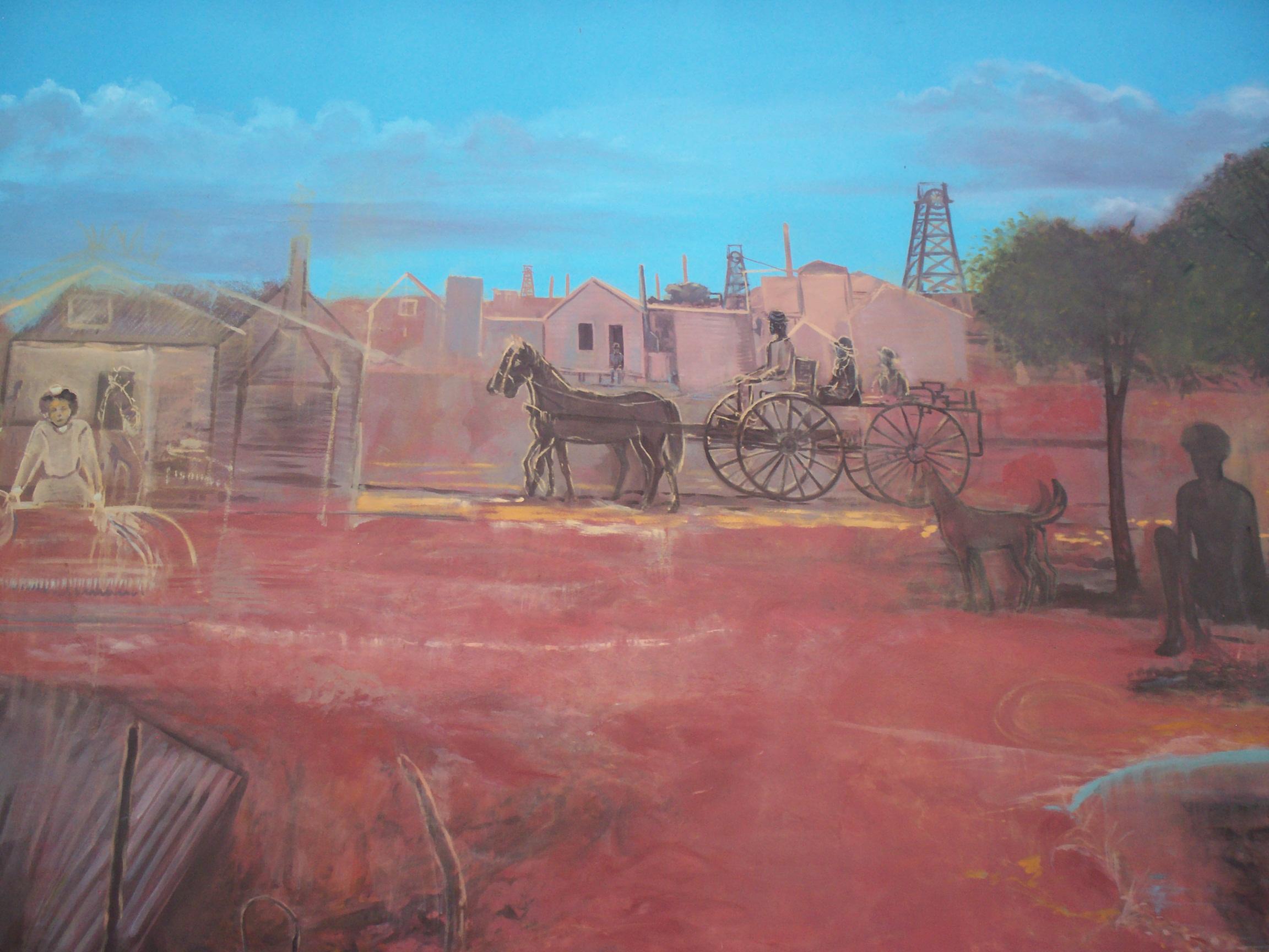 The Golden Mile, Street Art-Boulder, Western Australia