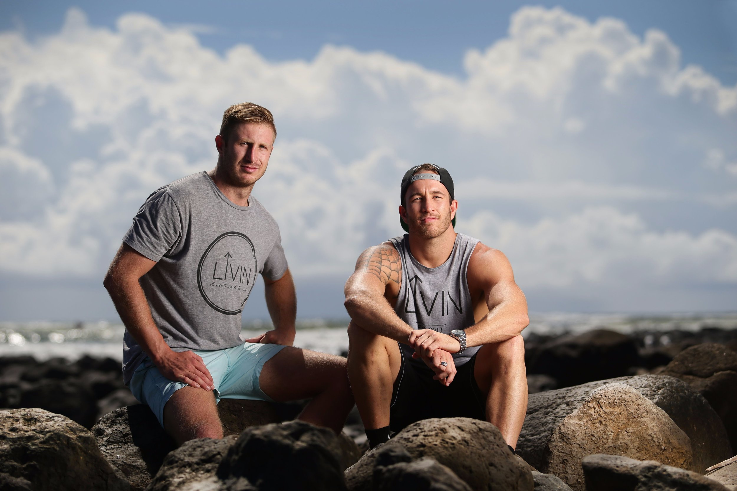 LIVIN co-founders Sam Webb and Casey Lyons