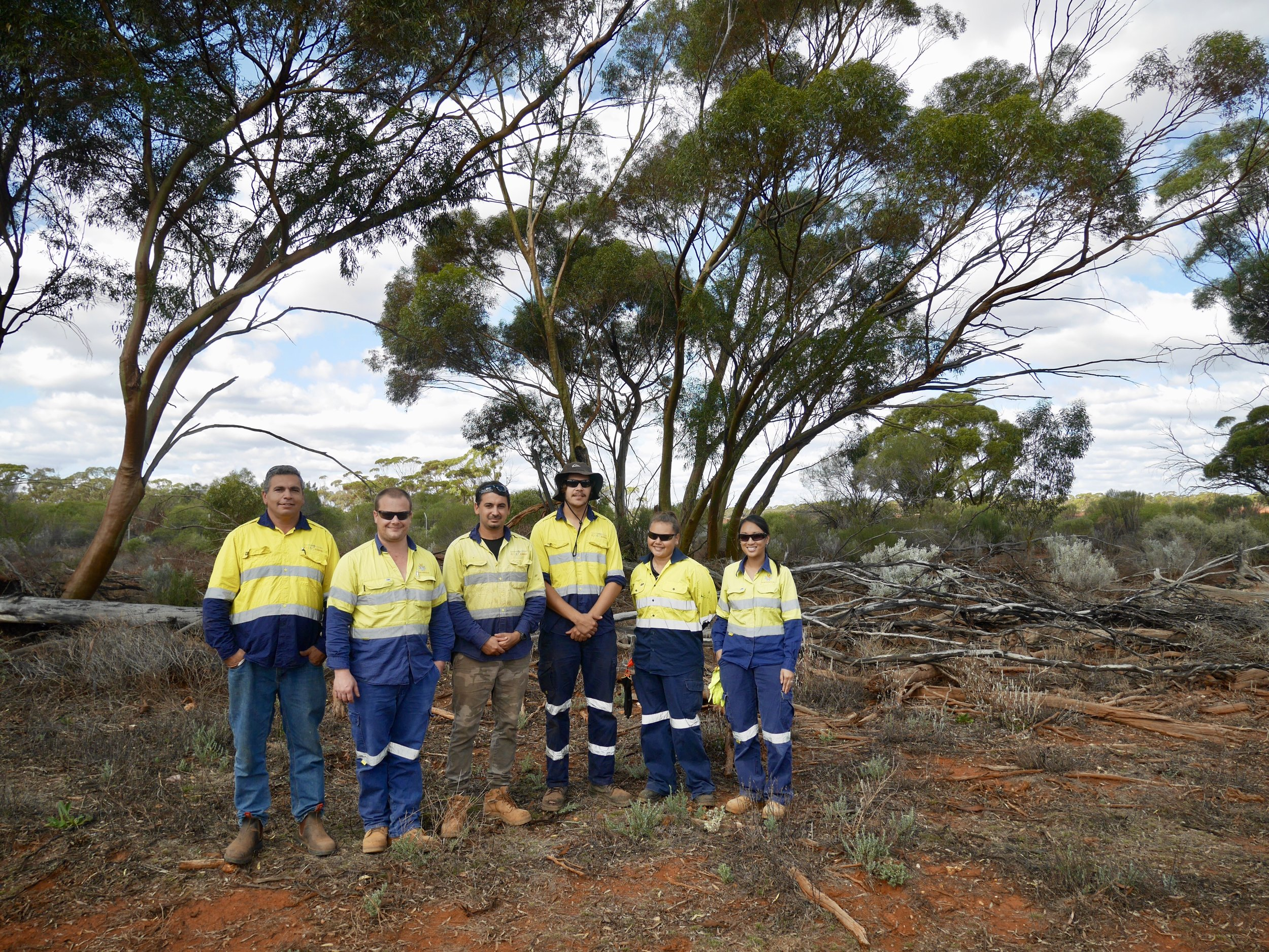 See the Goldfields Land and Sea Council Aboriginal Rangers in action at Northern Star Resources' Kanowna Gold Mine at one of the trail points.