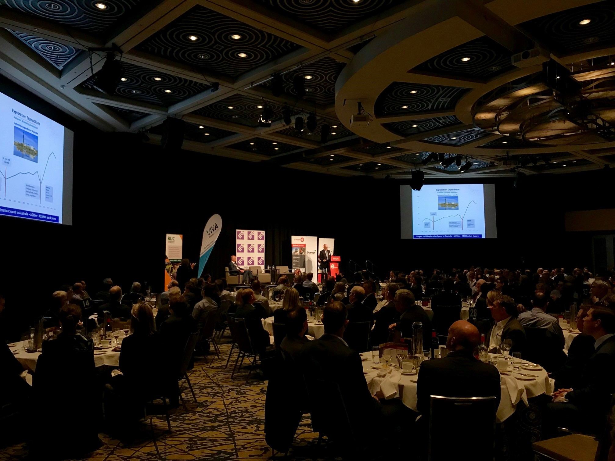 Gold Fields Executive Vice President Australasia, Stuart Mathews presents.