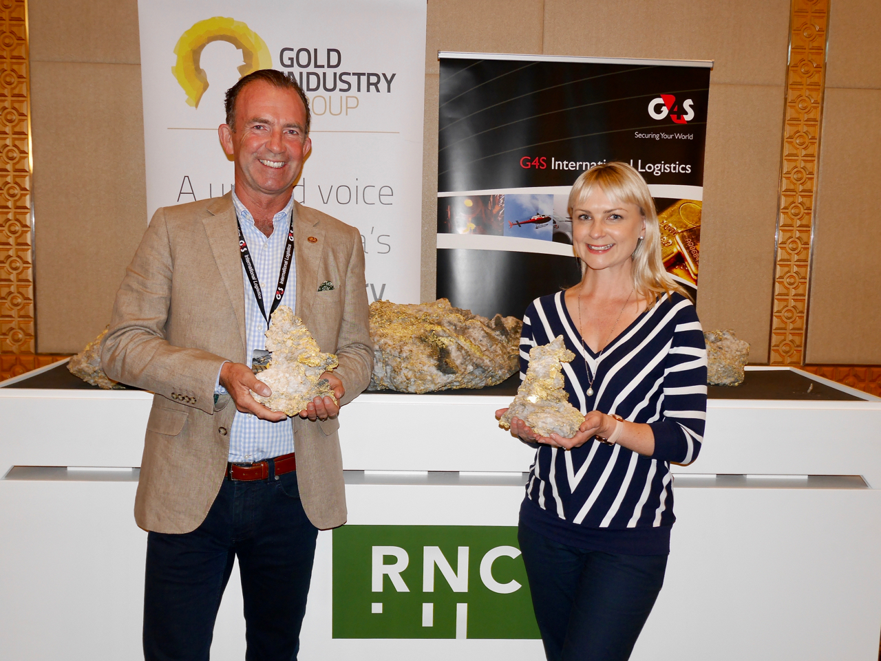 GIG Executive Officer Rebecca Johnston goes behind the scenes with G4Si Managing Director Julian Haskard at the Precious Metals Investment Symposium