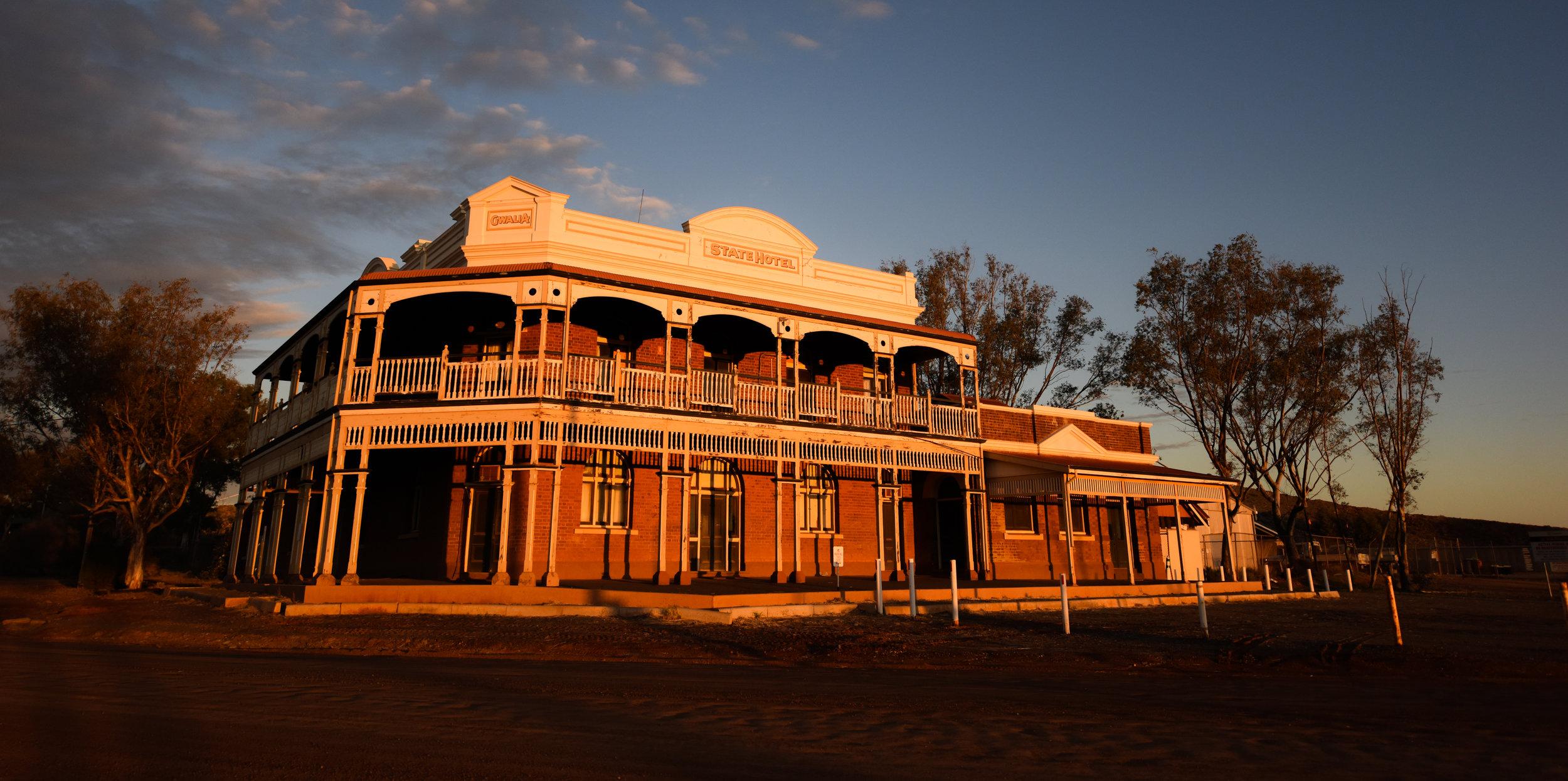 Gwalia's State Hotel. Photo credit: Kate Ferguson