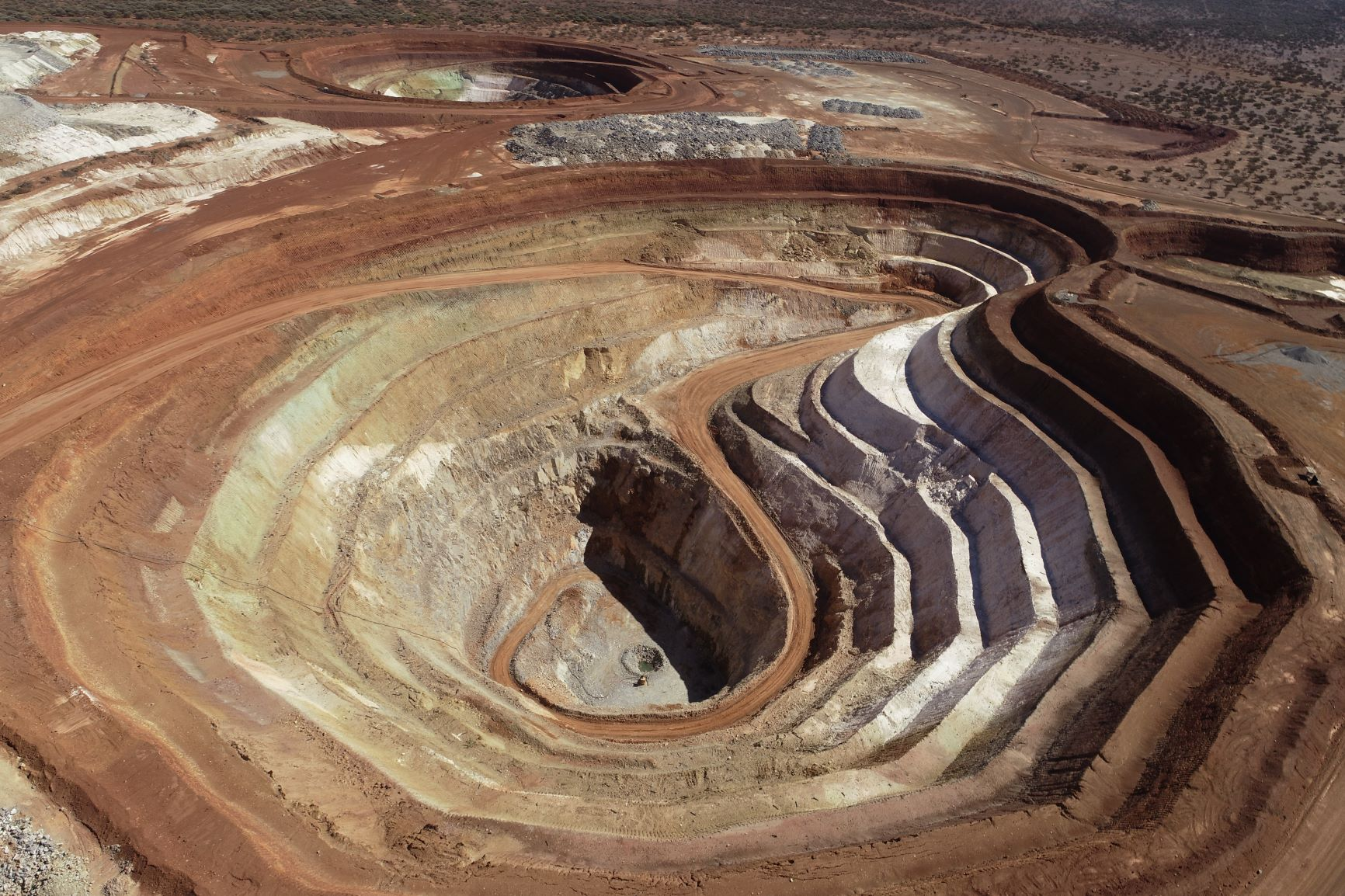 Stellar pit: part of Ramelius Resources' Cosmos Mine in Mount Magnet.