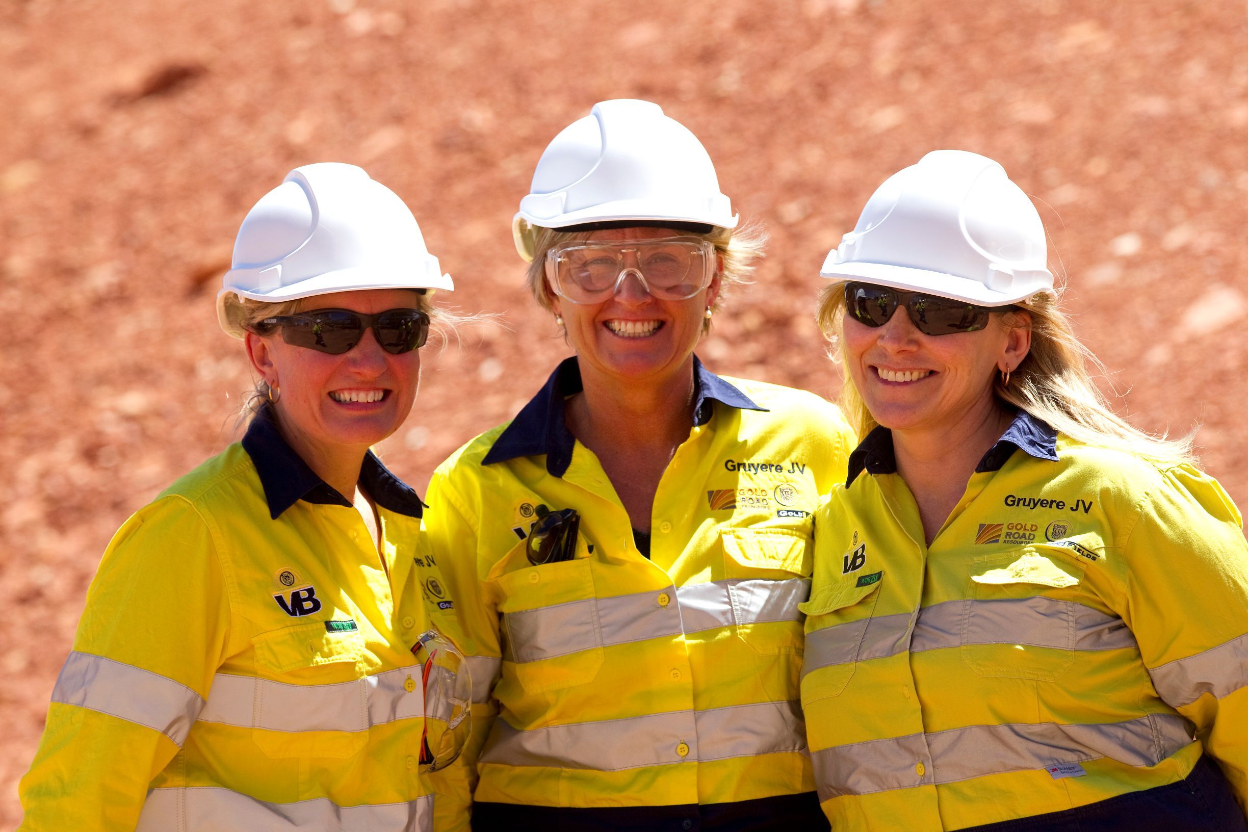 Gold Road Resources during a recent site tour of Gruyere