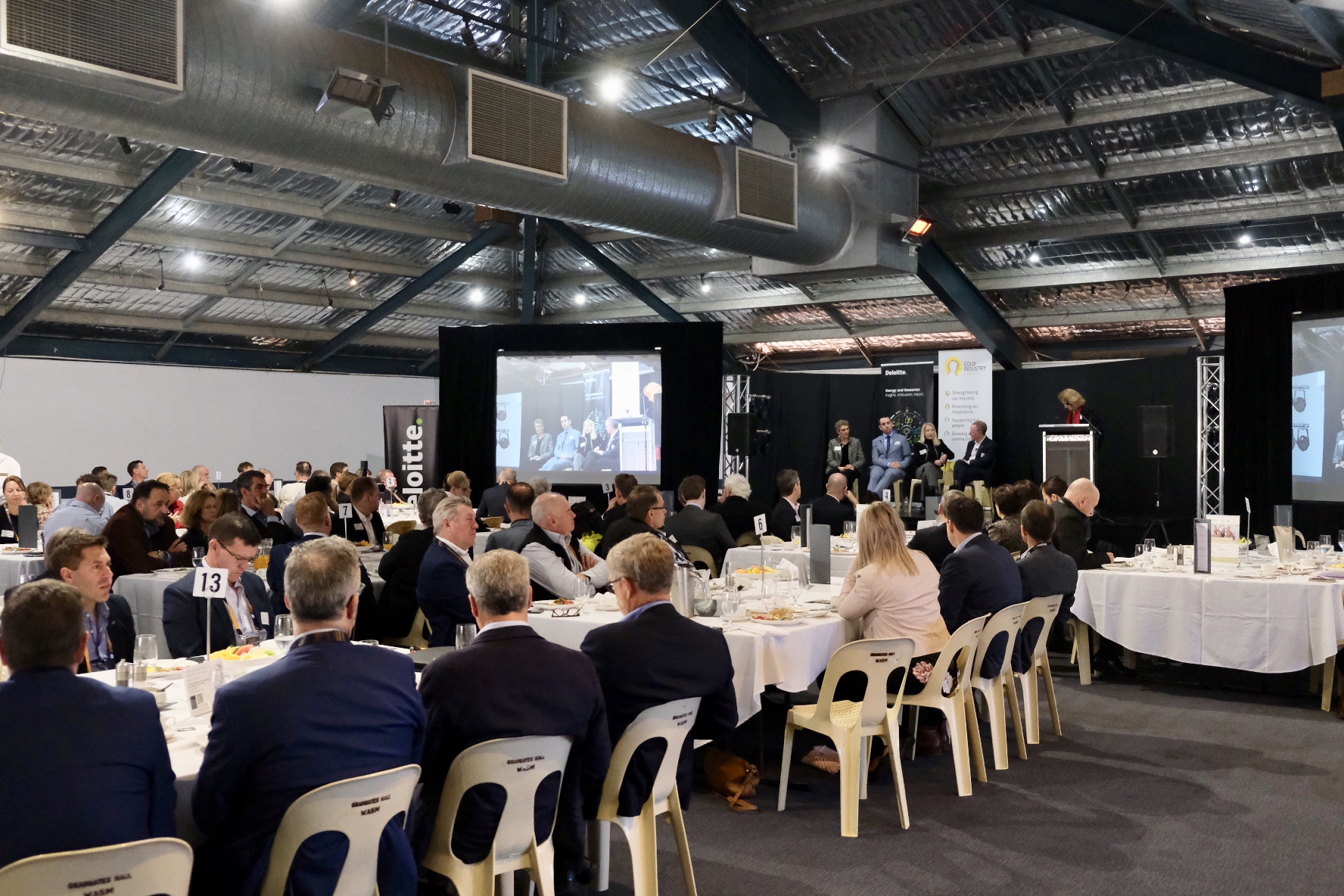 GIG and Deloitte's annual breakfast event drew a 140-strong crowd to explore the image of mining.