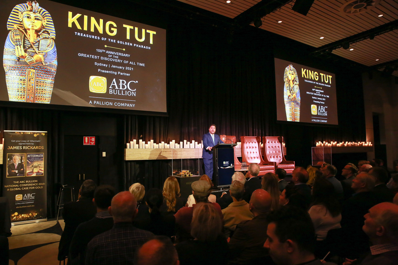 Pallion CEO Andrew Cochineas announces support to bring exhibition Tutankhamun: Treasures of the Golden Pharaoh to Australia