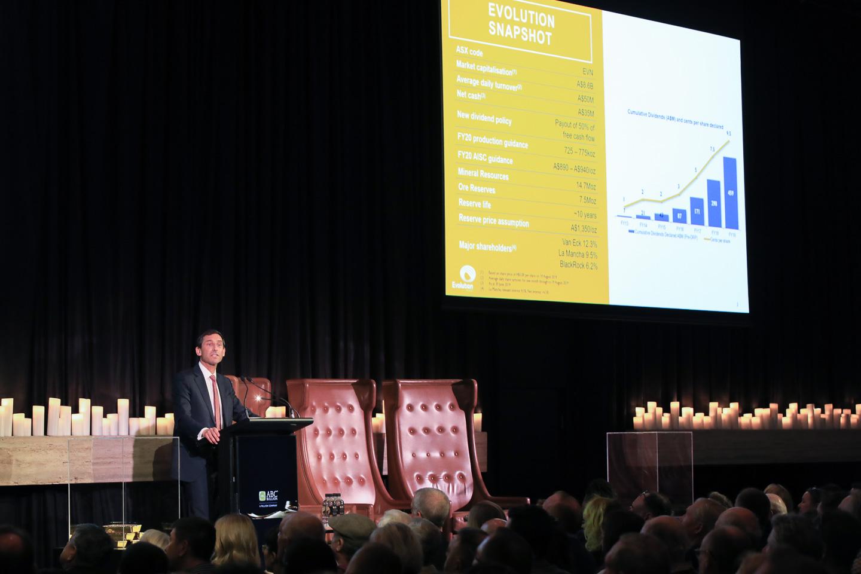 Evolution Mining Executive Chairman Jake Klein