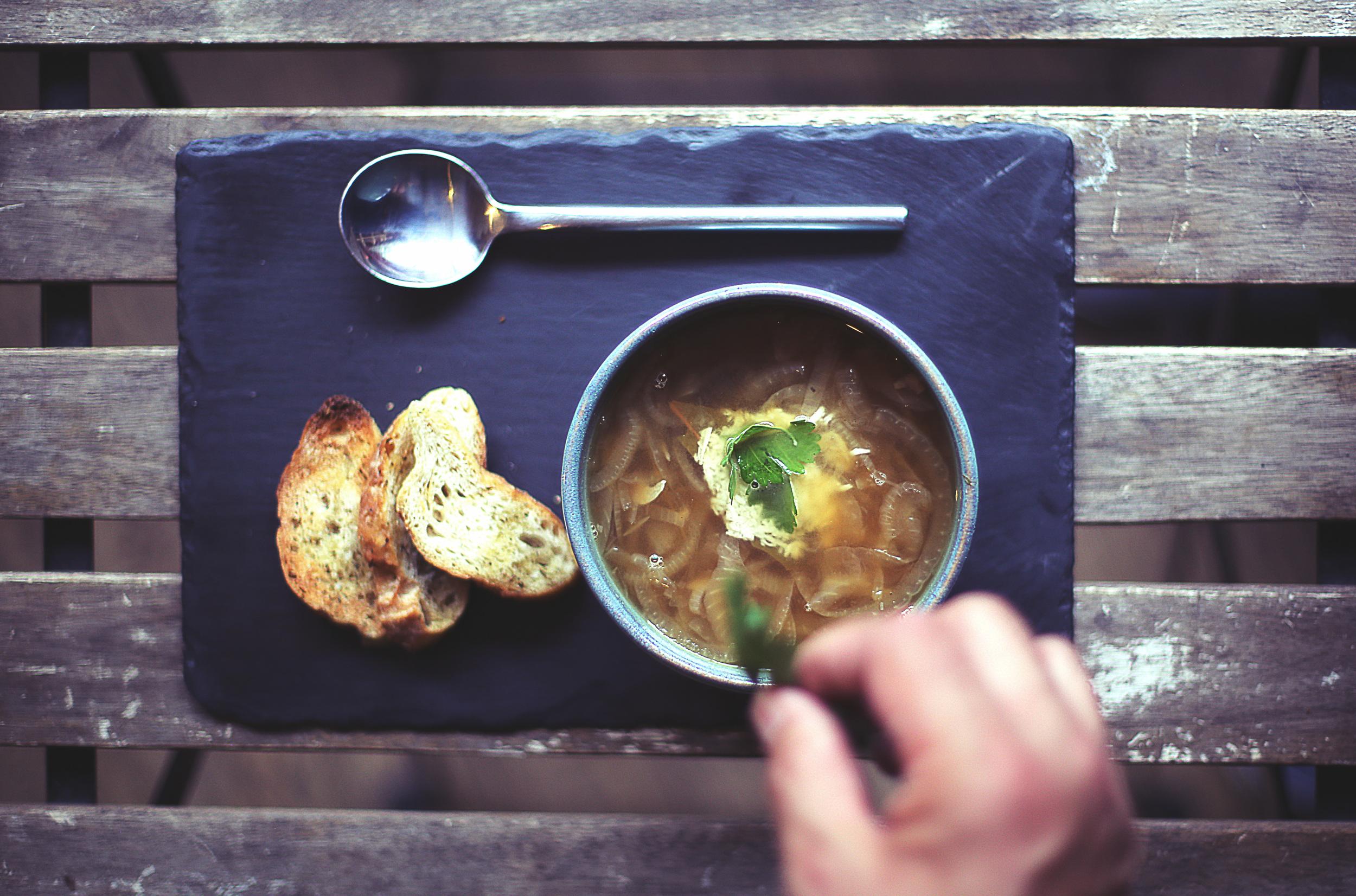 Freshly Prepared Soups & Sandwiches