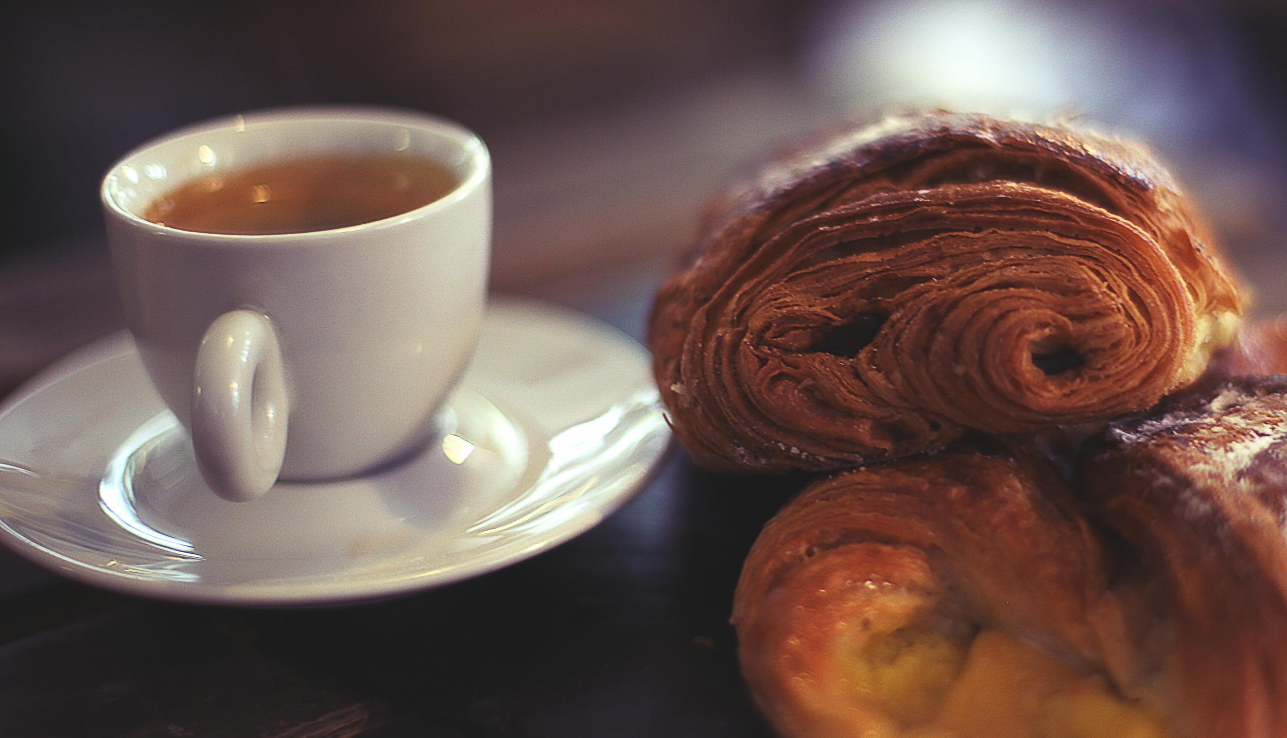 Arabica/Fair Trade Coffee & Pastries