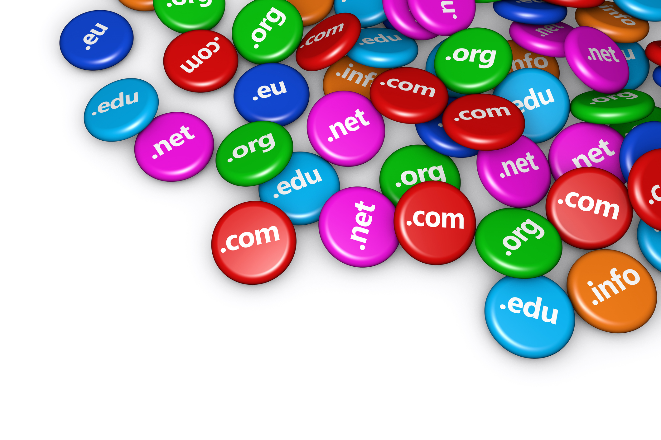 Domains &Hosting  Complete range of domain names available with varied hosting options including DNS controls and SQL services.