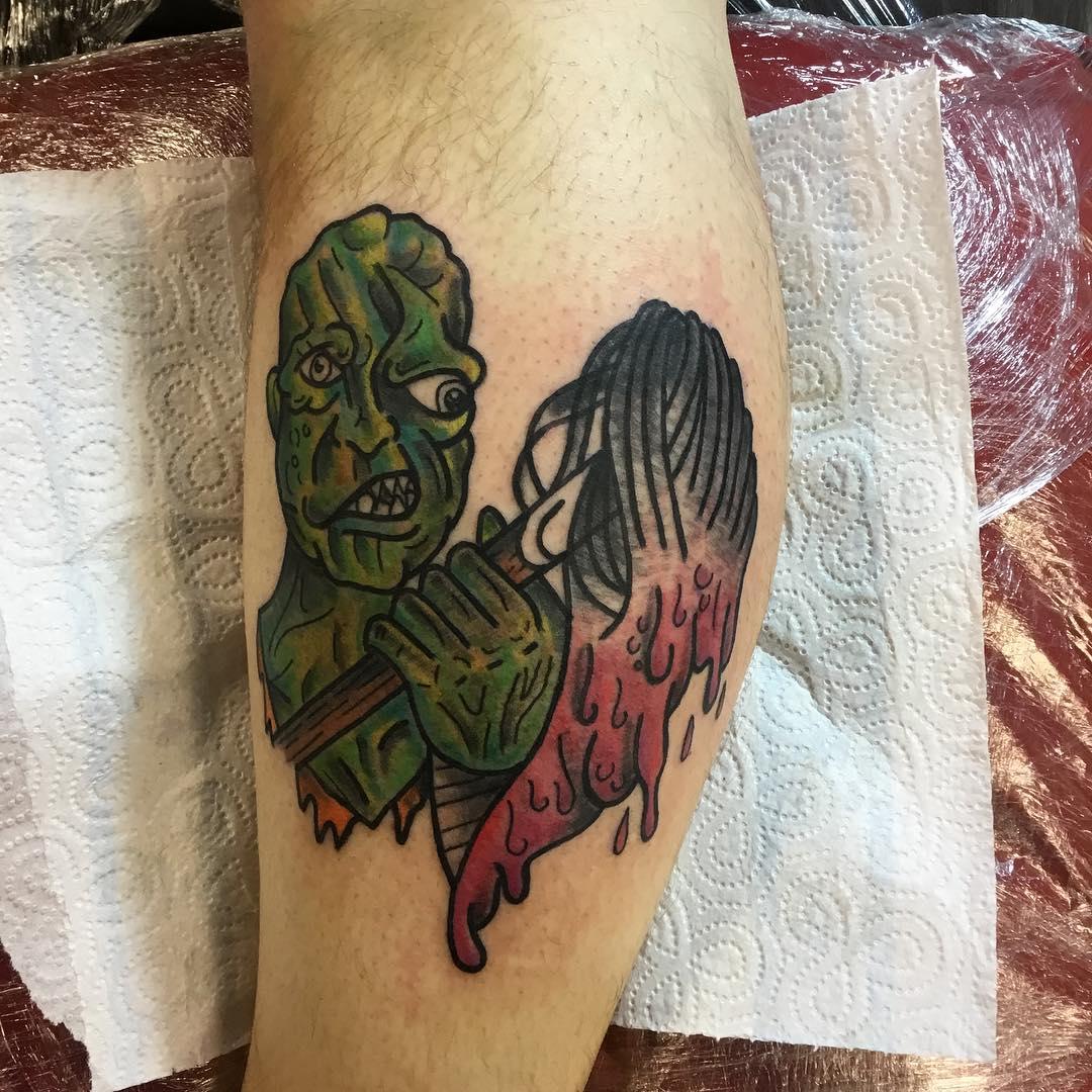 Toxie: Tattooed by Tony, Designed By Alex