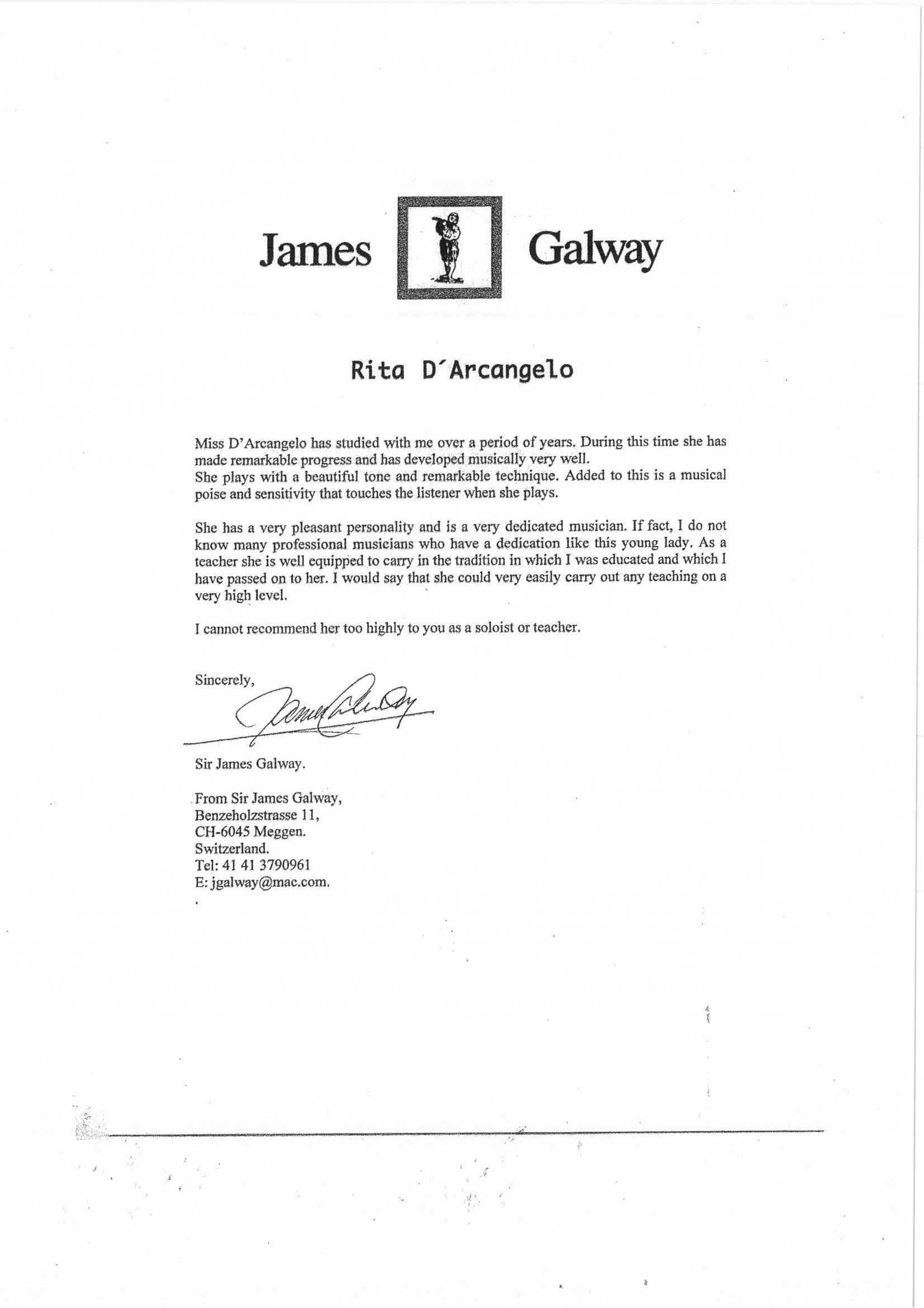 Recomendation letter James Galway for Rita D_Arcangelo.jpg