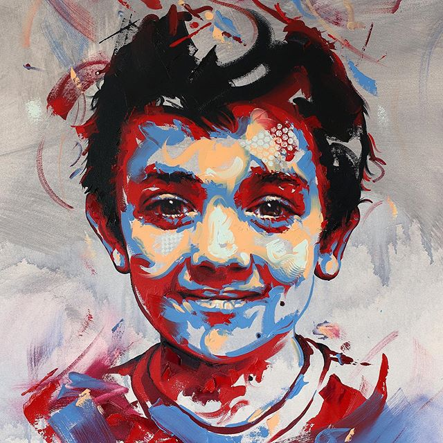 Recent commission for a client's wee boy. Really enjoyed painting this one- thank you! 😊  #Artwork #Art #Artist #MichaelCorrArtist #ContemporaryPainting #ContemporaryArtists #InstaArt #InstaArtist #ArtistsOnInstagram #Painter #Painting #OilPainting #Oils #Colours #PortraitArt #ArtCommission #PortraitCommission #Fineart #Originalart #Originalartwork [Thanks to @daler_rowney for providing Georgian Oils for this piece #Ad #Gifted]