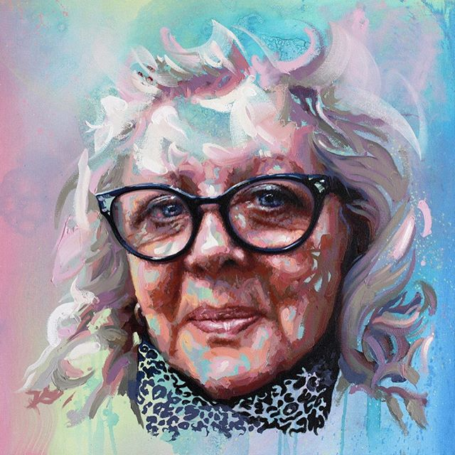 A special commission for Martin x:  Lillian (60x60cm) oil on canvas, 2019  #Artwork #Art #Artist #MichaelCorrArtist #ContemporaryPainting #ContemporaryArtists #InstaArt #InstaArtist #ArtistsOnInstagram #Painter #Painting #OilPainting #oils #Colours #PortraitArt #ArtCommission #PortraitCommission #Fineart #Originalart #Originalartwork [Thanks to @daler_rowney for providing Georgian Oils for this piece #Ad #Gifted]