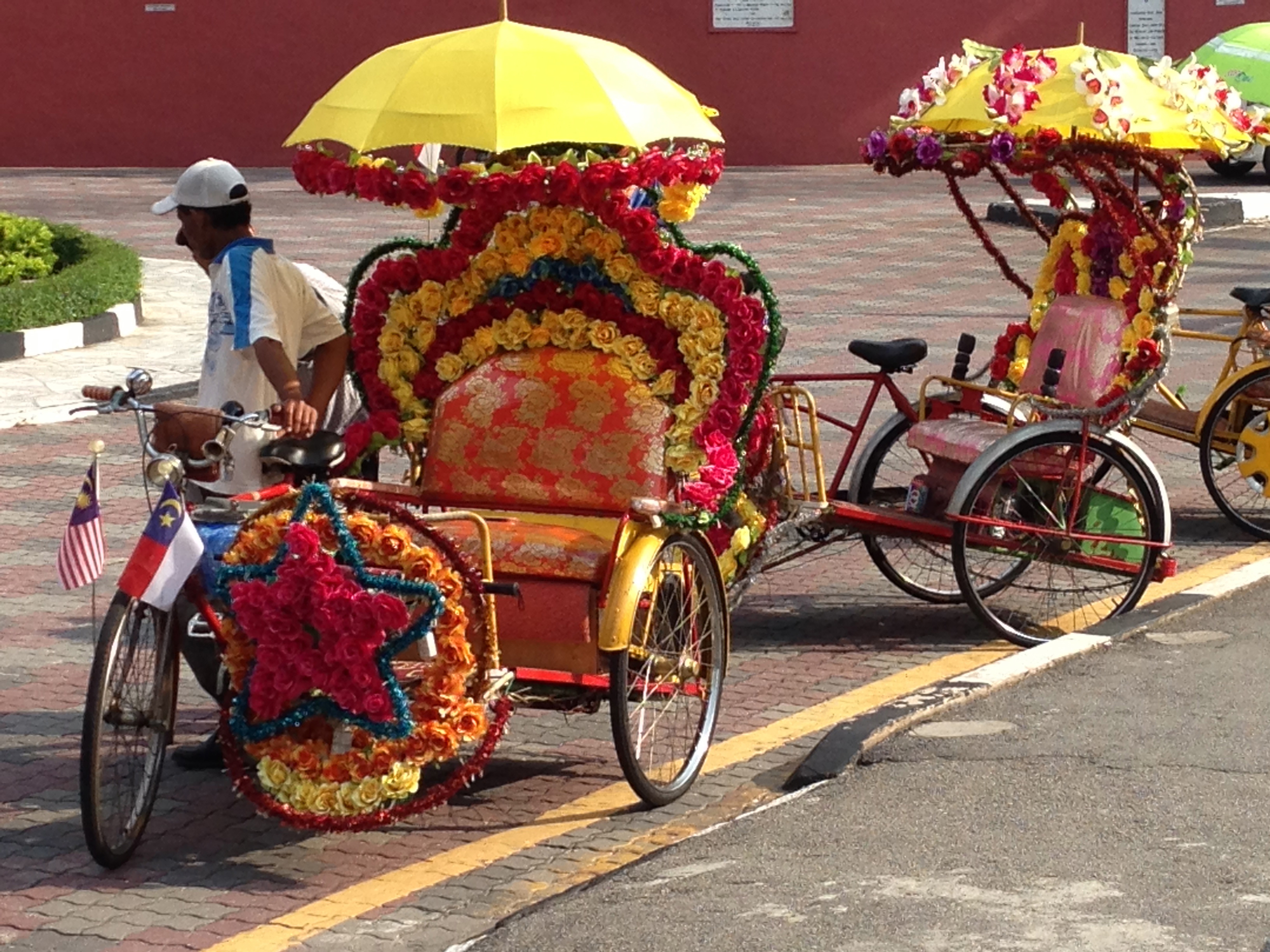 Decorated peddle powered transport