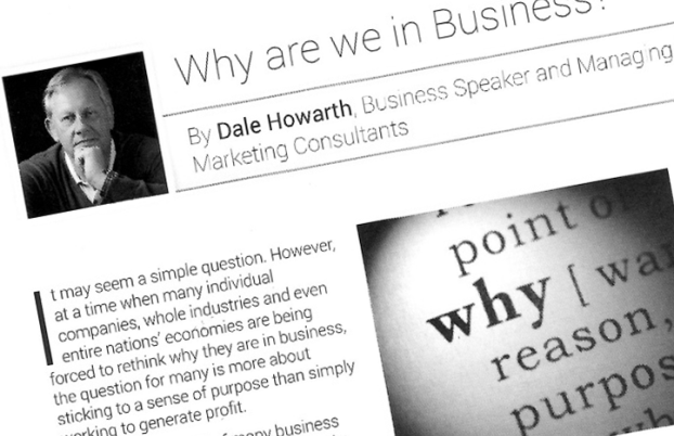 Dale Howarth-Business Success Writer