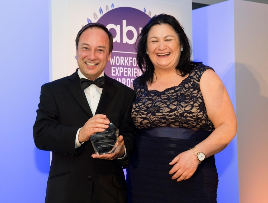 Two awards for  Embrion  at the ABP Workforce Experience Awards including the prestigious Chairman's Award.