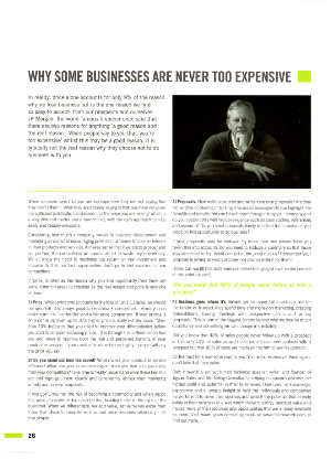Why Some Businesses are Never Too Expensive.