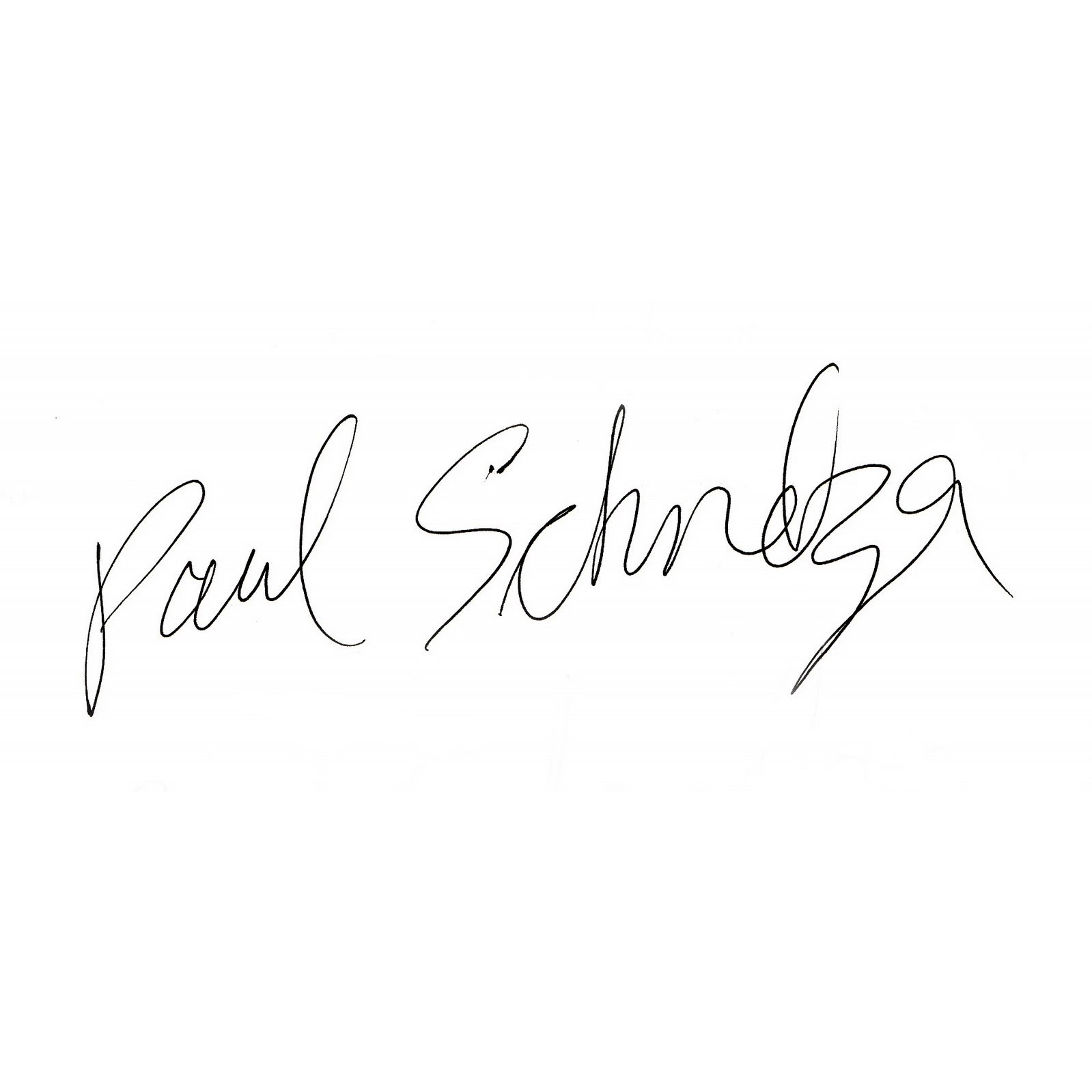 Paul Schmelzer as signed by Sonic Youth's Kim Gordon