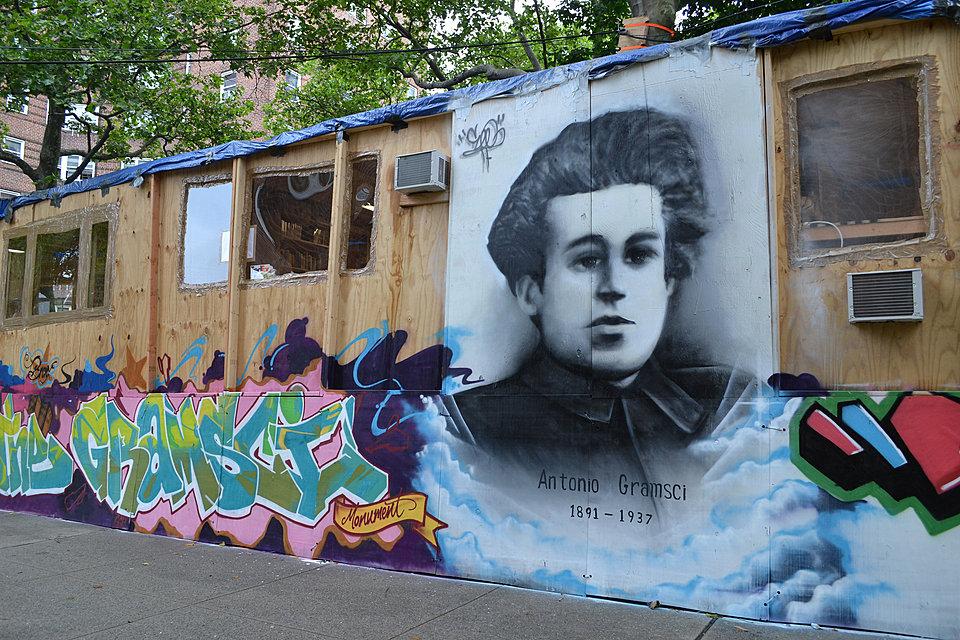 Thomas Hirschhorn's Gramsci Monument, Bronx, NY