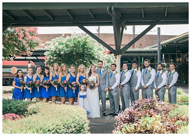 historic wedding reception venue - the Chattanooga Choo Choo Hotel