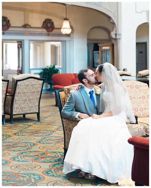 Wedding reception venue - historic Chattanooga Choo Choo Hotel