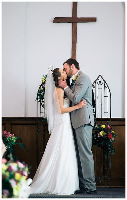 North Shore Fellowship Church, Chattanooga TN, you may kiss the bride
