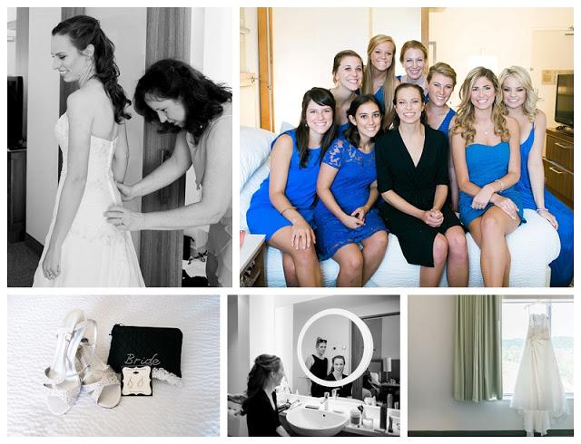 SpringHill Suites Marriott, Chattanooga TN, July 2015 Wedding, royal blue bridesmaid dresses