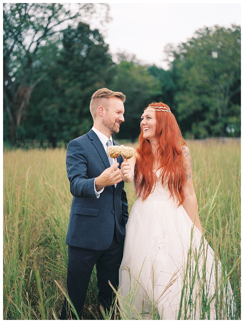 Cute Bride and Groom picture