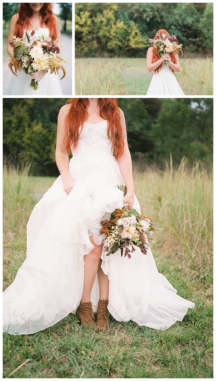 Fall-themed wedding