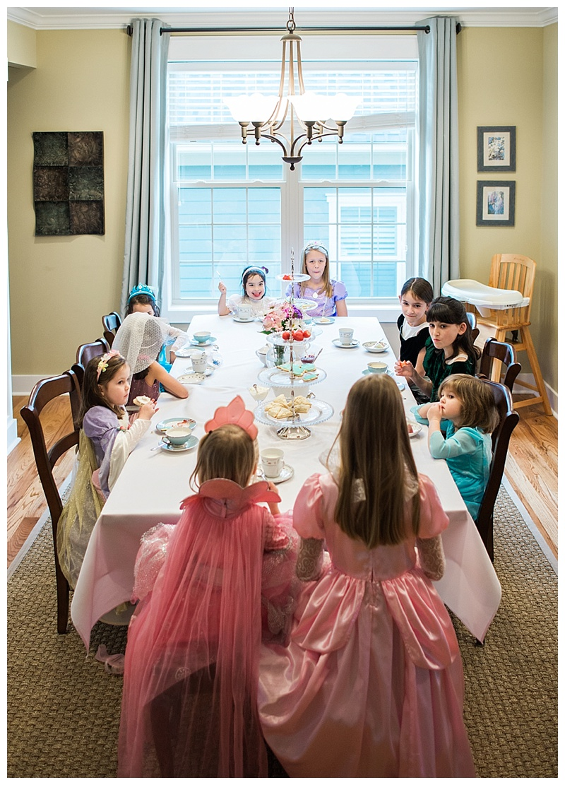 fancy tea party for little girls