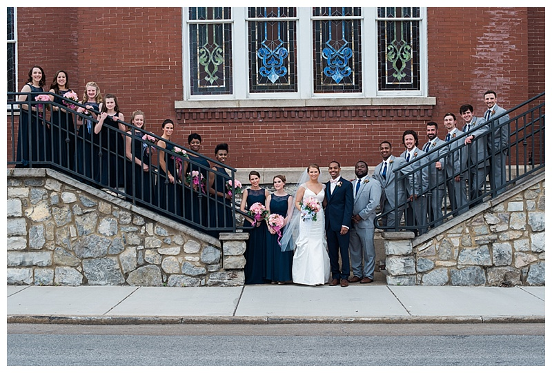 Bridal Party at Lindsay St Hall