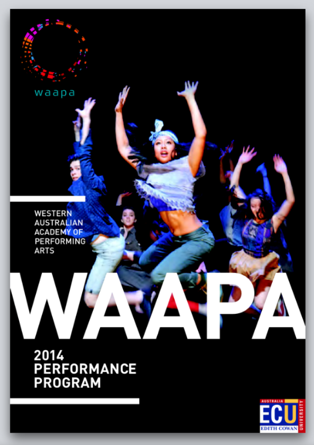 Western Australian Academy of Performing Arts (WAAPA) Performance Program 2014.