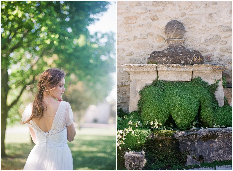 Fontaine en Provence au Domaine de Patras