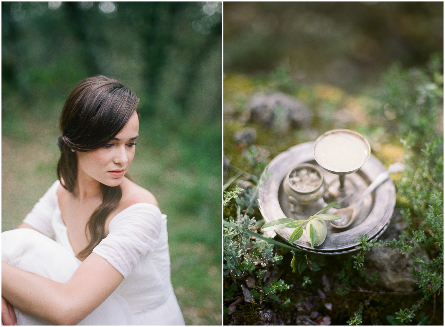 Beautiful details of wedding in Provence ©Celine Chhuon