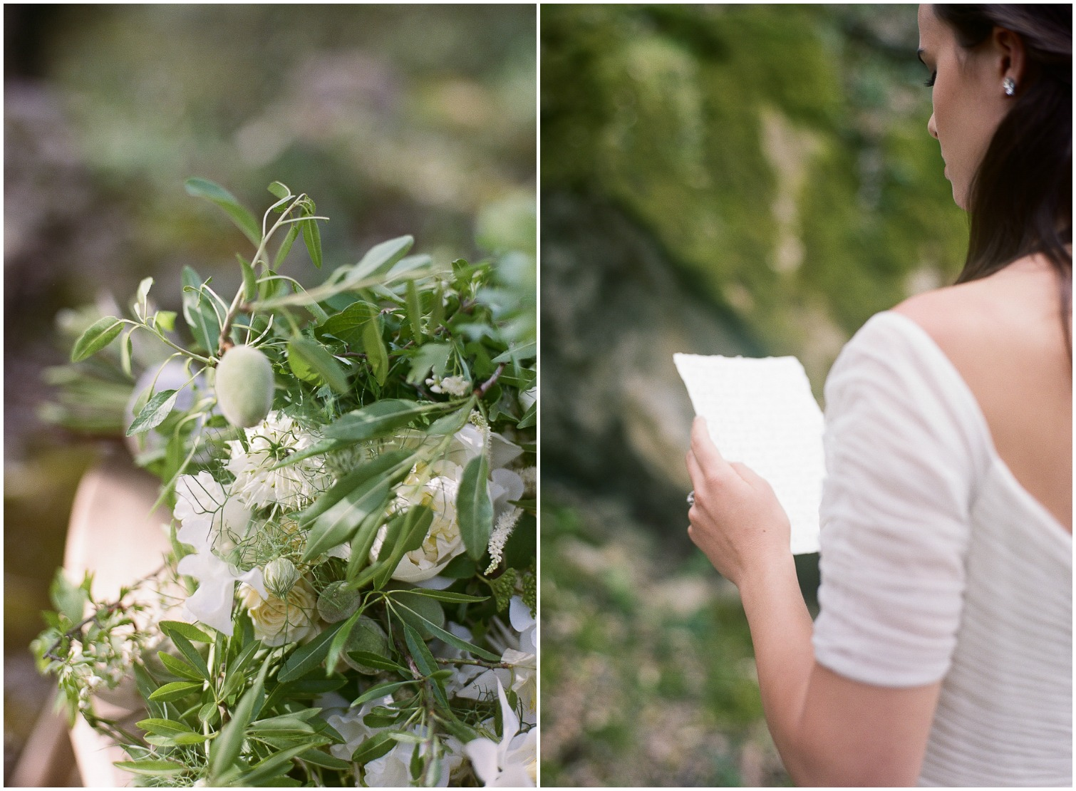 Wedding Vows | French Wedding Photographer ©Celine Chhuon