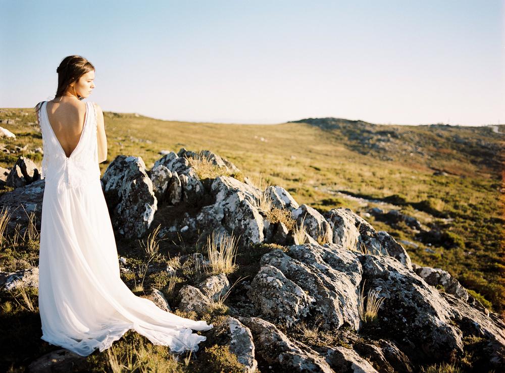 Modern Wedding Dress - Rembo Styling - ©Celine Chhuon
