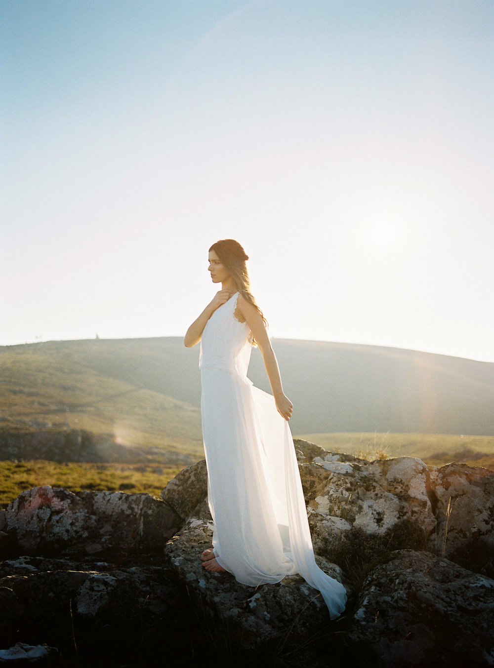 Bohemian Wedding Dress - Rembo Styling - ©Celine Chhuon