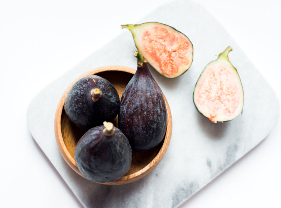 Food styling figs