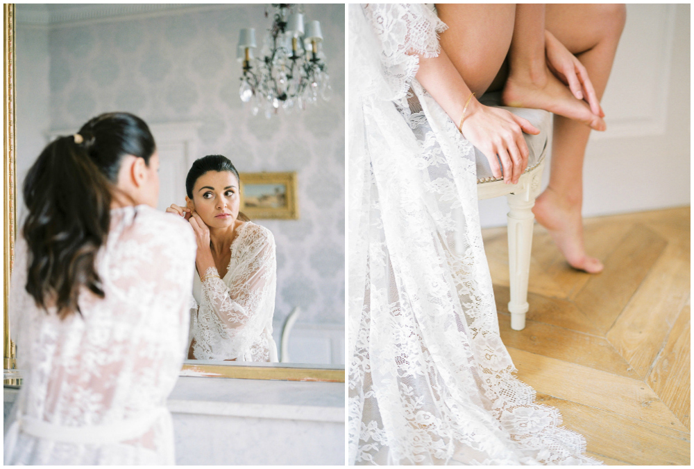 French wedding photographer for elopement
