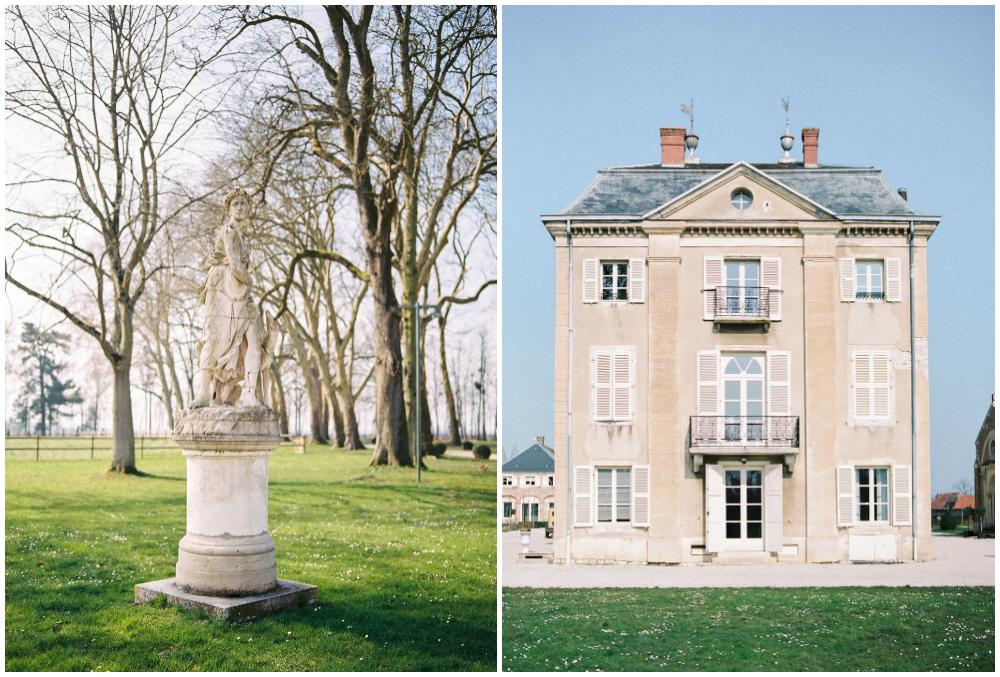 Chateau de Varennes in Burgundy
