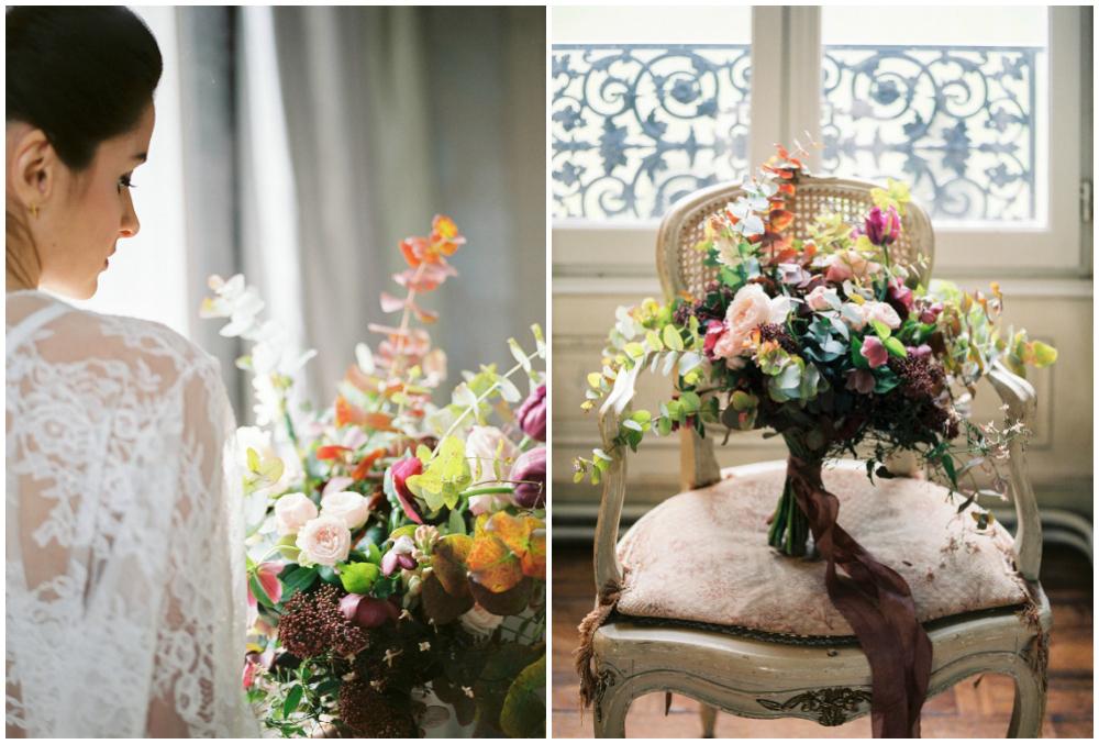 Wedding bouquet de mariage