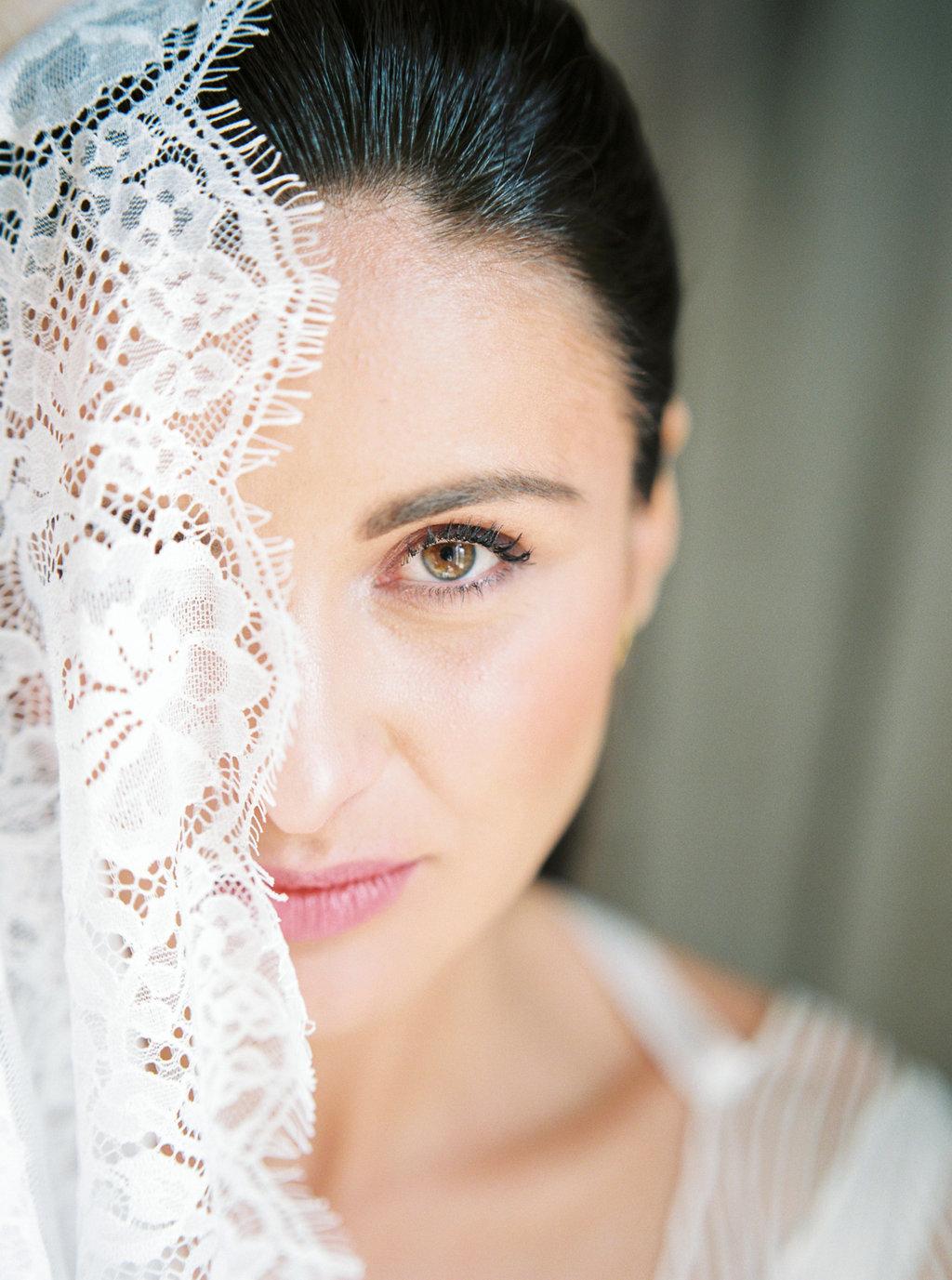 French wedding photographer bridal make up