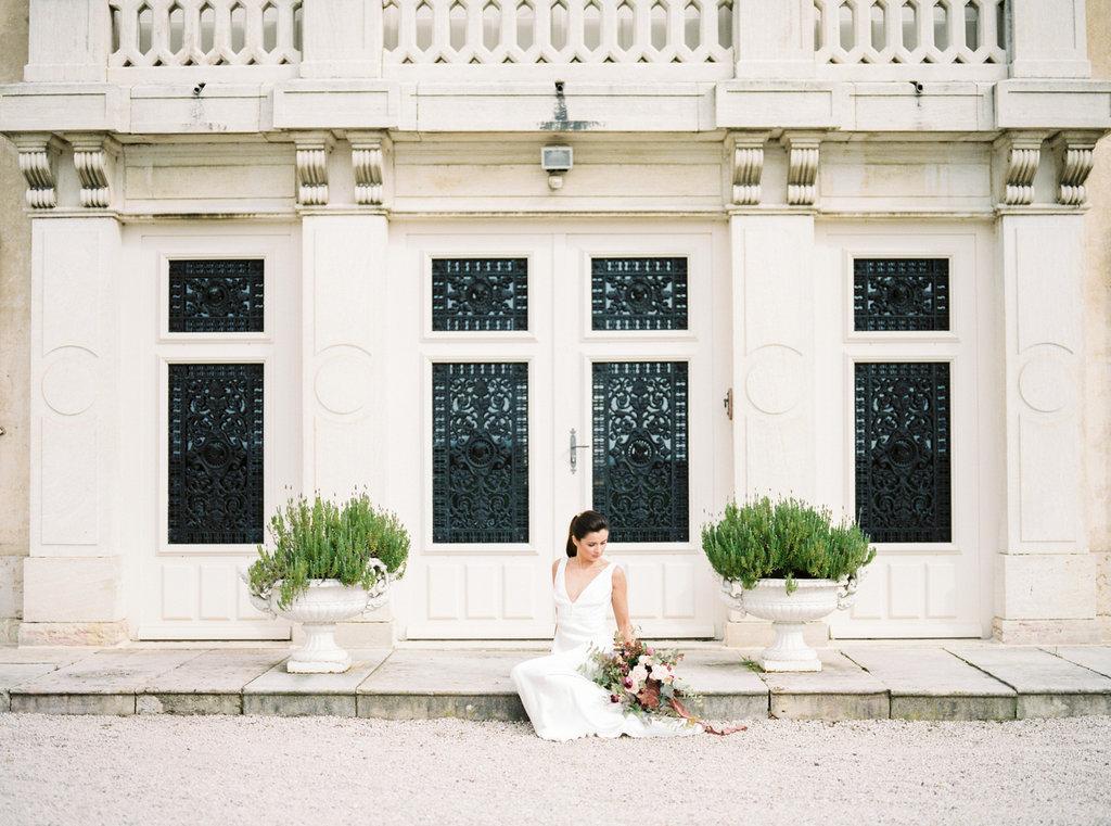 French chateau elegant wedding