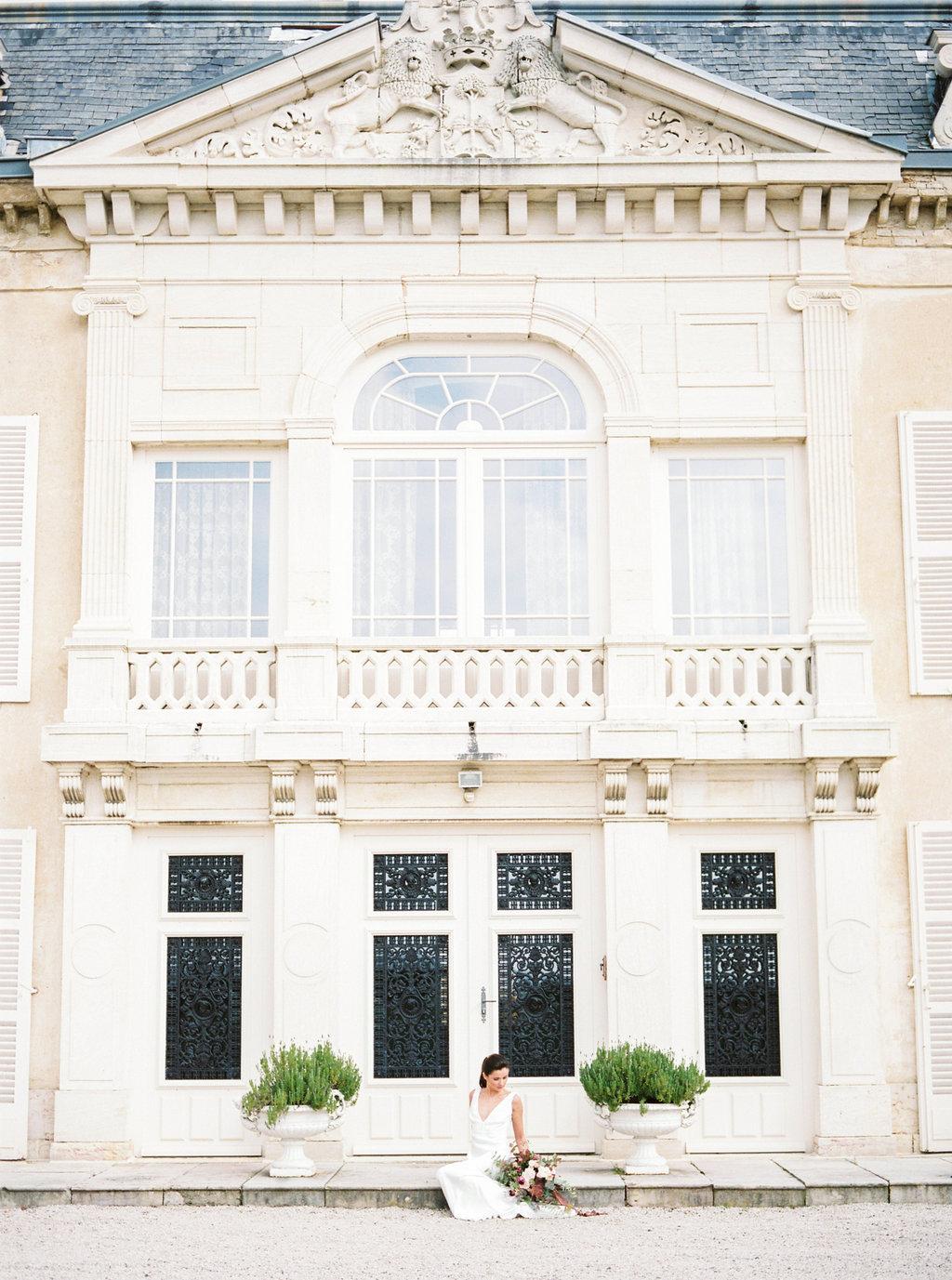 Photographe de mariage Bourgogne Chateau de Varennes