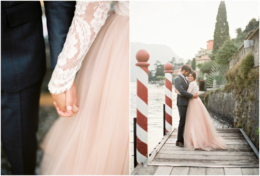 elegant wedding in Italy in Lake Como
