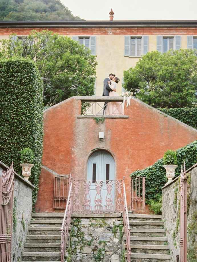 Elopement in Lake Como
