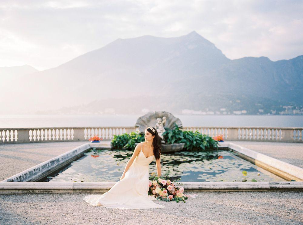 Bellagio wedding photos in Lake Como