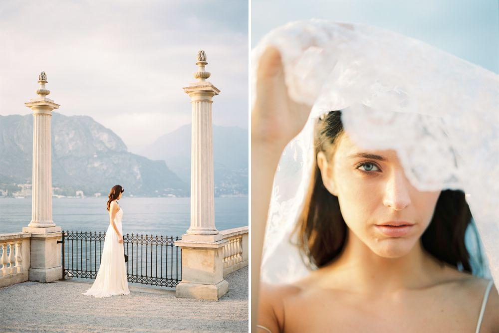 Wedding lace veil
