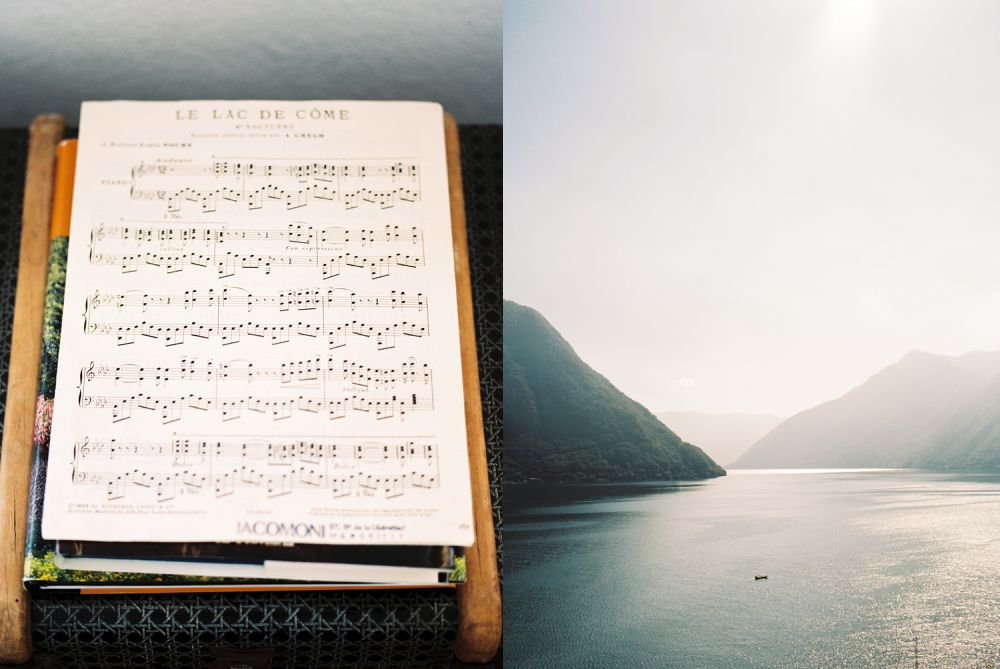 Sunrise in Lake Como